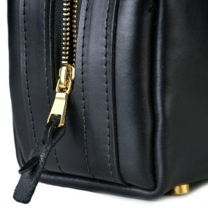 USA leather toiletry bag